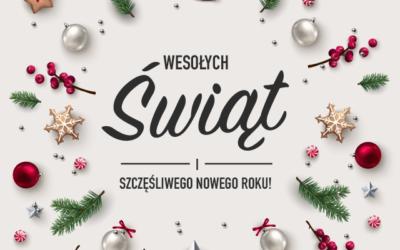 Wspaniałych Świąt Bożego Narodzenia!